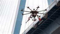 Interaktion von Drohnen in Städten