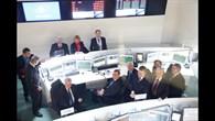 Blick aus der Schaltzentrale des Galileo%2dKontrollzentrums