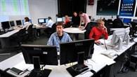 Kontrollraum des Nutzerzentrums für Weltraumexperimente (MUSC)