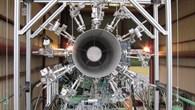 Test mit Heißgas%2dMikrofon%2dSonden am Hubschraubertriebwerk