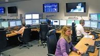 Steuerung der Satelliten am Deutschen Raumfahrtkontrollzentrum in Oberpfaffenhofen