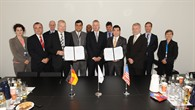 A NASA delegation were guests of DLR at the ILA Berlin Air Show 2012