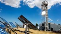 Wasserstoffherstellung mit konzentrierten Sonnenstrahlen