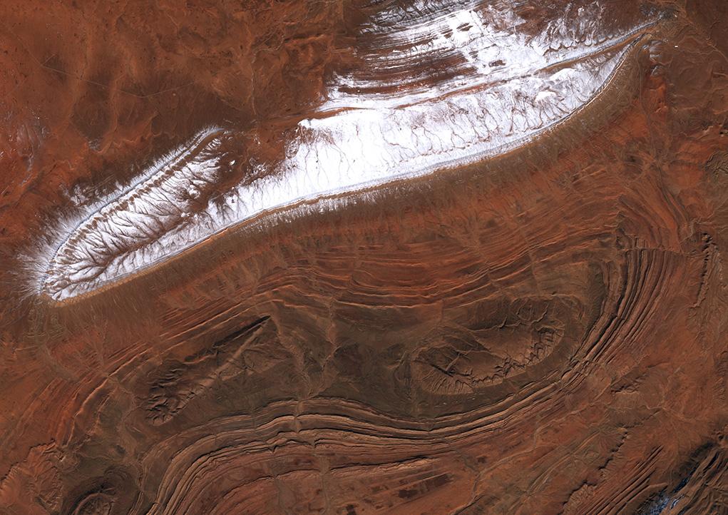 Dlr Earth Observation Center Schnee In Der Sahara
