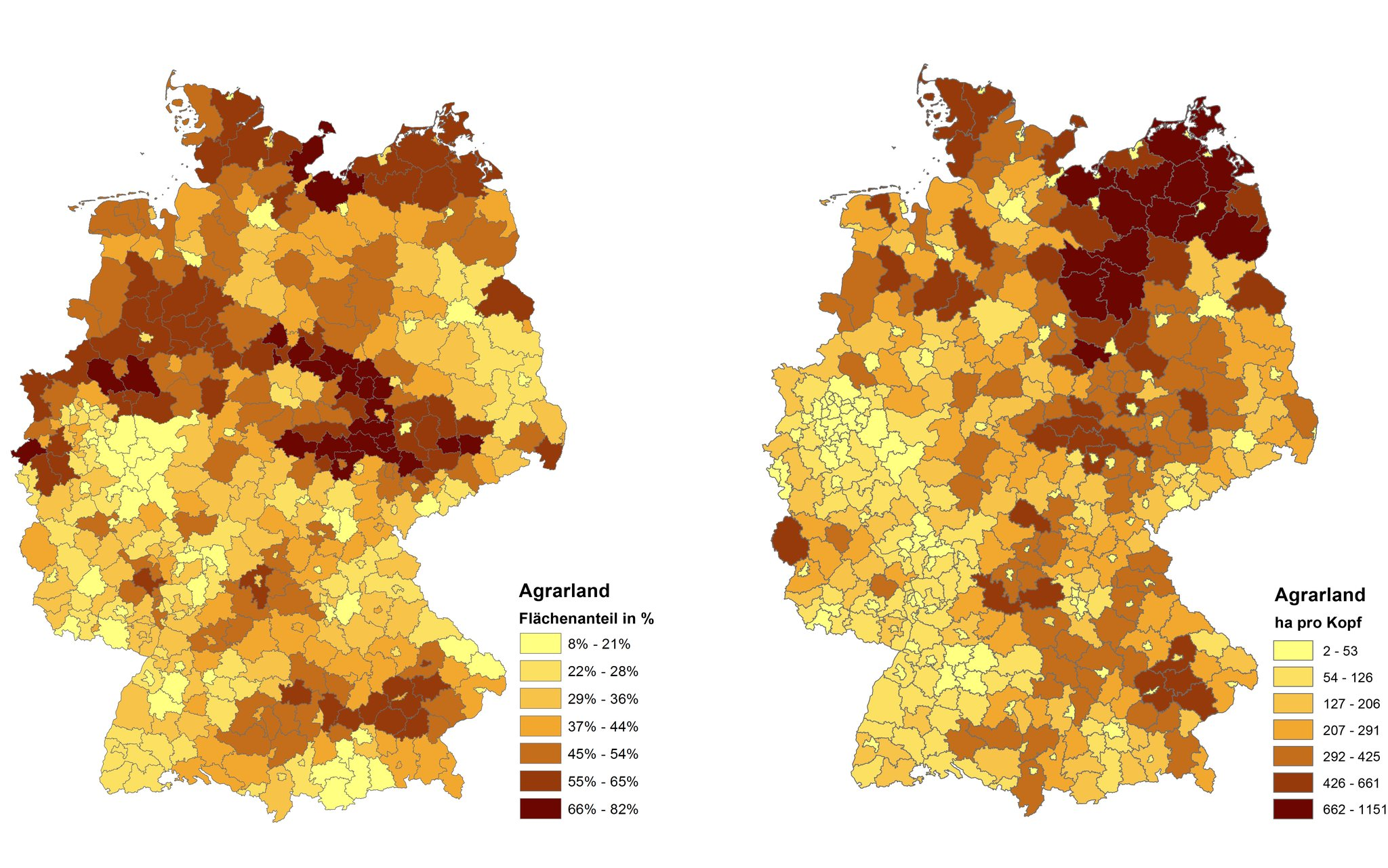 Map Of Deutschland Germany.Dlr Earth Observation Center New Dfd Land Use And Land Cover Map