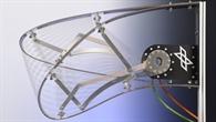 Steifigkeitsoptimierte Haut einer Flügelvorderkante  mit einem konventionellen Verformungs%2dMechanismus