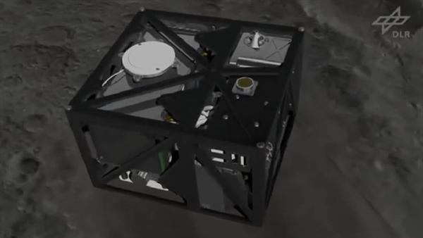 MASCOT Asteroiden Lander