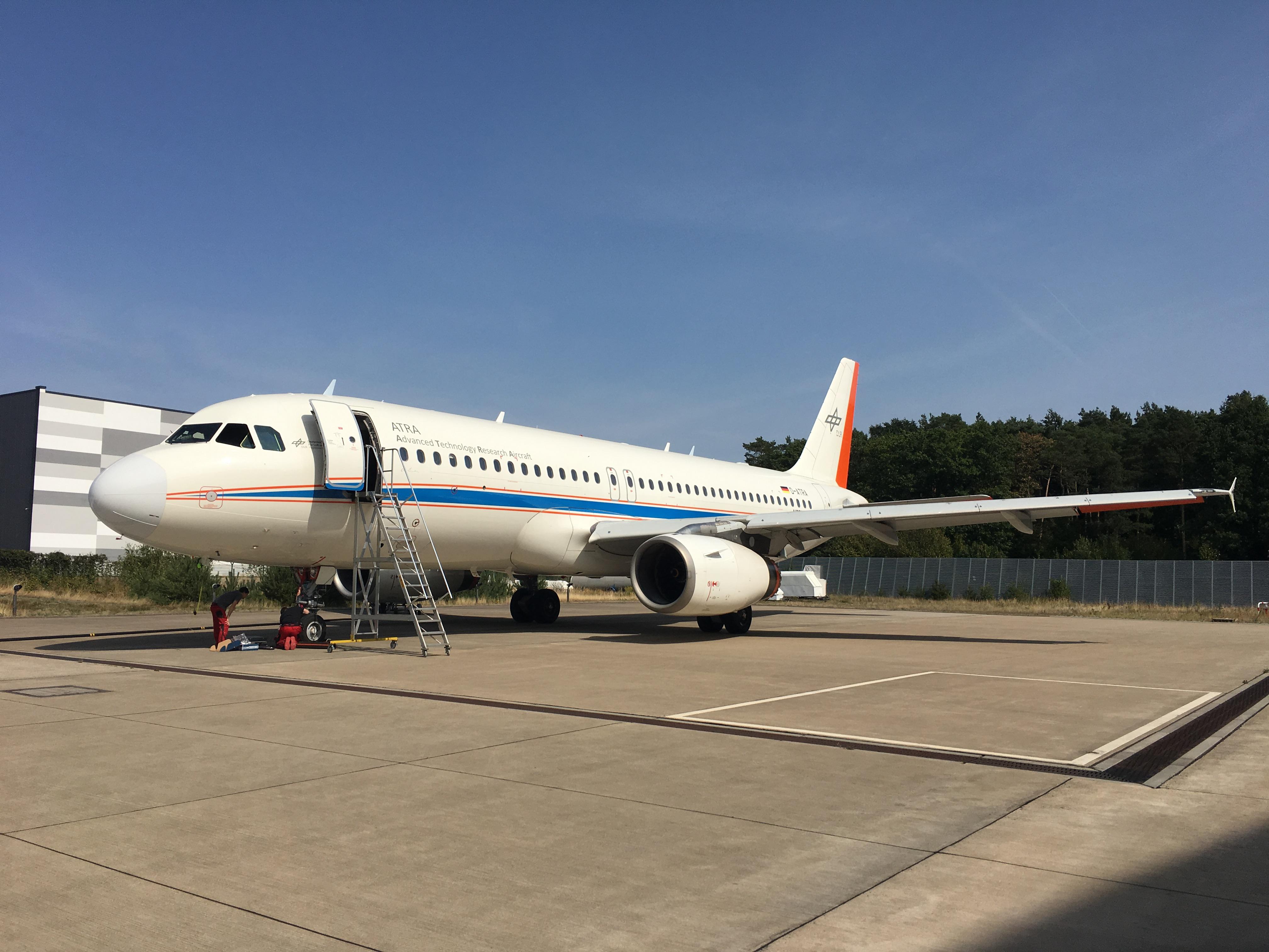 Vorbereitung für LNATRA Messflüge