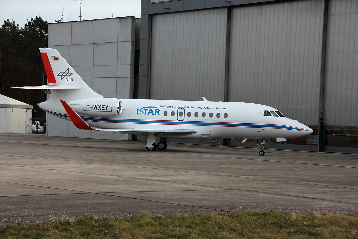 DLR Forschungsflugzeug ISTAR( In-flight Systems & Technology Airborne Research)