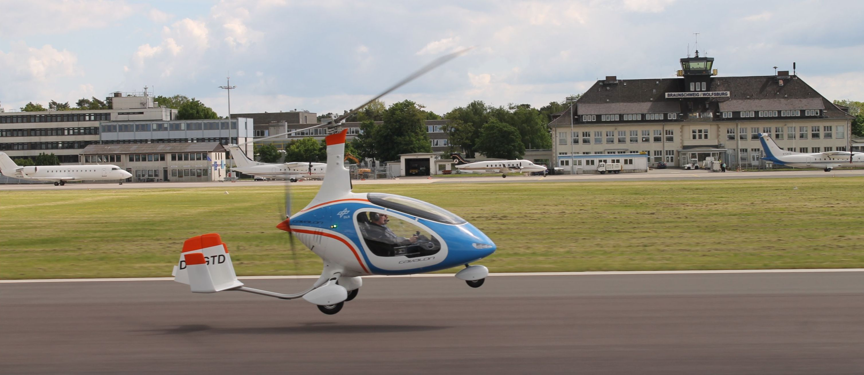 DLR - Institute of Flight Systems - Autogyro / Gyrocopter