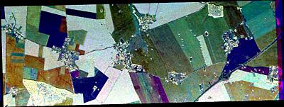 AGRISAR Goermin temporal colour composite
