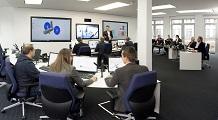 Panorama des großen CEF Entwurfraums