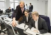 Studien%2dTeamleiter planen die nächsten Schritte des CE Prozesses