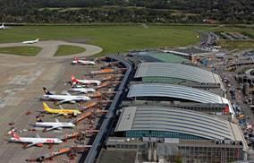 Der Flughafen Hamburg, an dessen Beispiel Technologien im Projekt entwickelt und bewertet werden. Foto: M.Penner