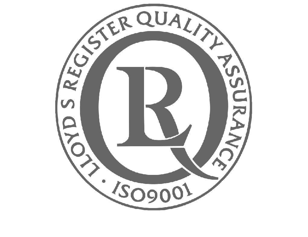 Lloyds ISO 9001 Logo grau