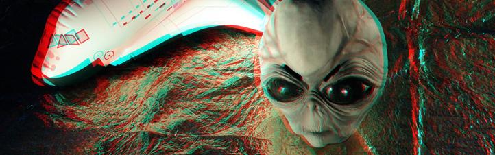Ob Shuttle oder Alien – oder lustige Fotos von deinen Freunden: Mach mit beim 3D-Fotowettbewerb! Es gibt eine Menge toller Preise zu gewinnen!