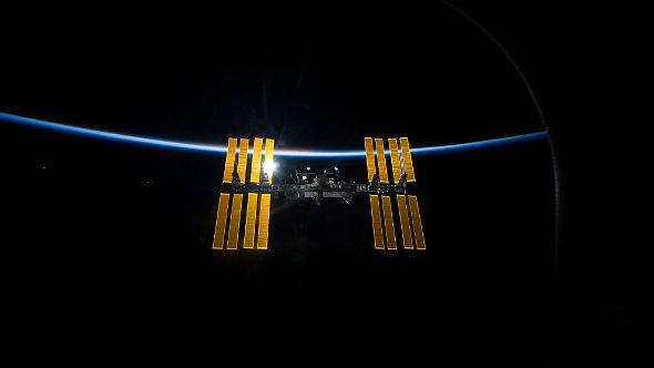 Die Internationale Raumstation ISS. Bild: NASA