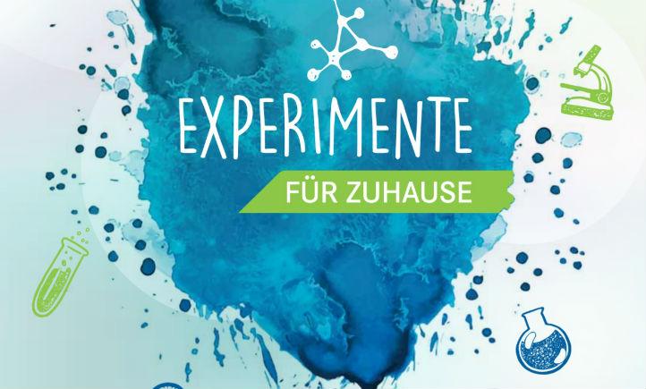 Die Experimente für Zuhause gibt es als Heft und auch per Video.
