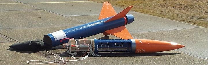Mit einer solchen Rakete könnte auch dein Mini-Satellit schon bald in die Höhe geschossen werden.