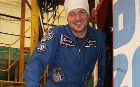 Alex ist Schirmherr der Aktion Mission X. Bild: ESA