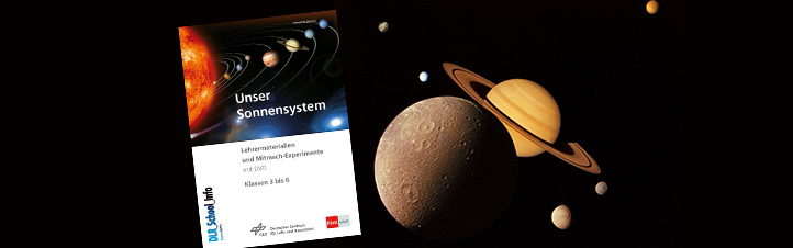 """""""Unser Sonnensystem"""" – spannende Infos und Mitmach-Experimente ab der 3. Jahrgangsstufe."""