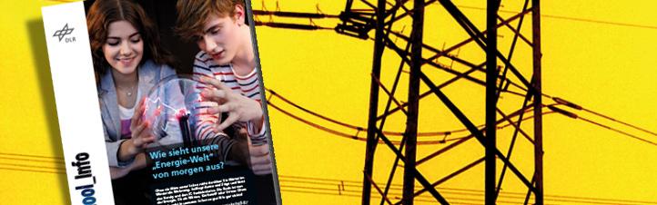 Power für die Schule: Das Unterrichtsmaterial zum Thema Energie gibt Schülern und Lehrern viele Anregungen für die Behandlung dieses wichtigen Themas im Unterricht. Spannung garantiert ;-) Bild: DLR