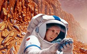 Was werden Astronauten auf dem Mars entdecken? Bild: NASA, Pat Rawlings (SAIC)