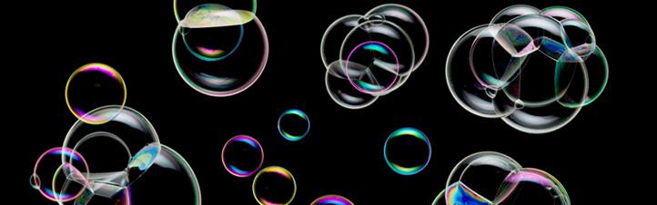 Bei den Gewinner-Experimenten der Aktion 42 geht es um Seifenblasen in Schwerelosigkeit.