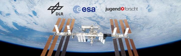 Schüler können ein Experiment für die ISS entwickeln. Der Ideenwettbewerb ist eine gemeinsame Aktion von DLR, ESA und der Stiftung Jugend forscht e.V.