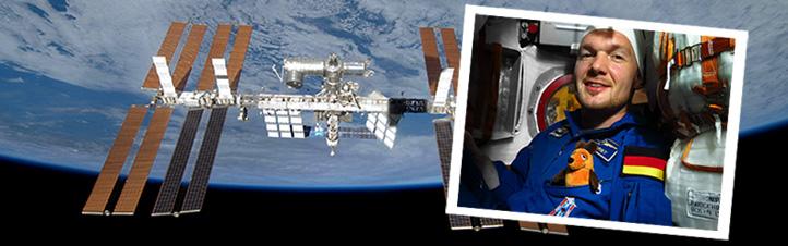 Alex ist ein großer Maus-Fan. Deshalb war der ESA-Astronaut sofort begeistert, als die Idee aufkam: Maus-Zuschauer dürfen Vorschläge für ein Experiment machen, das er bei seinem nächsten Flug zur Internationalen Raumstation im Jahr 2018 durchführt. Quelle: NASA/ESA (CC-BY 3.0).