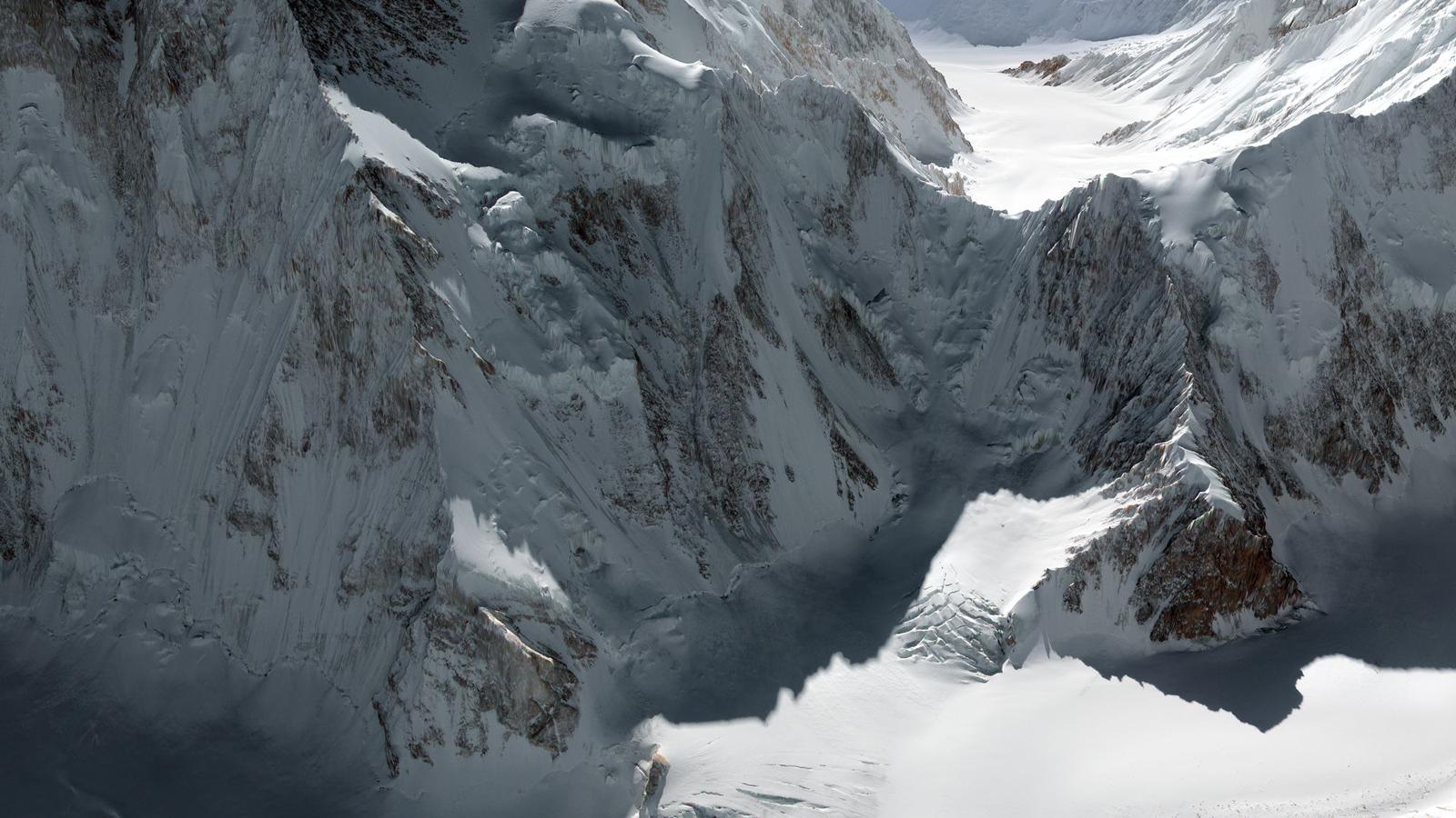 Der K2 ist der zweithöchste Berg der Erde. Bild: DLR