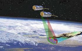 Satelliten untersuchen den Gesundheitszustand unseres Planeten, vermessen die Erde und liefern dabei viele Daten, die unterschiedlichsten Anwendungen dienen. Bild: Airbus Defence and Space