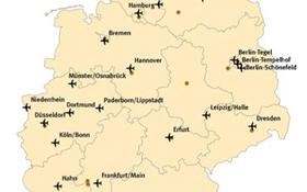 Auf den 27 Verkehrsflughäfen in Deutschland gibt es pro Jahr insgesamt rund 1 Million Starts. Bild: Statistisches Bundesamt