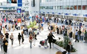 Die Anzahl der Fluggäste in Deutschland hat sich seit 1992 mehr als verdoppelt. <BR>Bild: Fraport