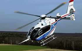 """Der """"Fliegende Hubschrauber–Simulator"""" des DLR im Einsatz. Bild: DLR"""