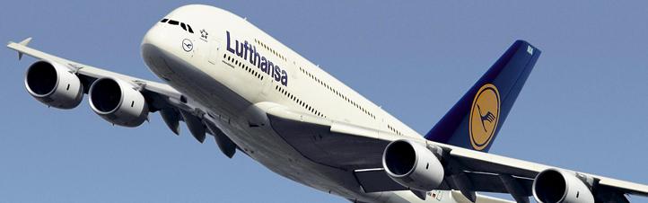 Ein startendes Flugzeug wie der riesige Airbus A380 ist immer wieder ein faszinierender Anblick.
