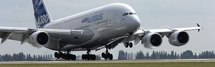 Der Airbus A380 – das größte Verkehrsflugzeug der Welt. Bild: Airbus