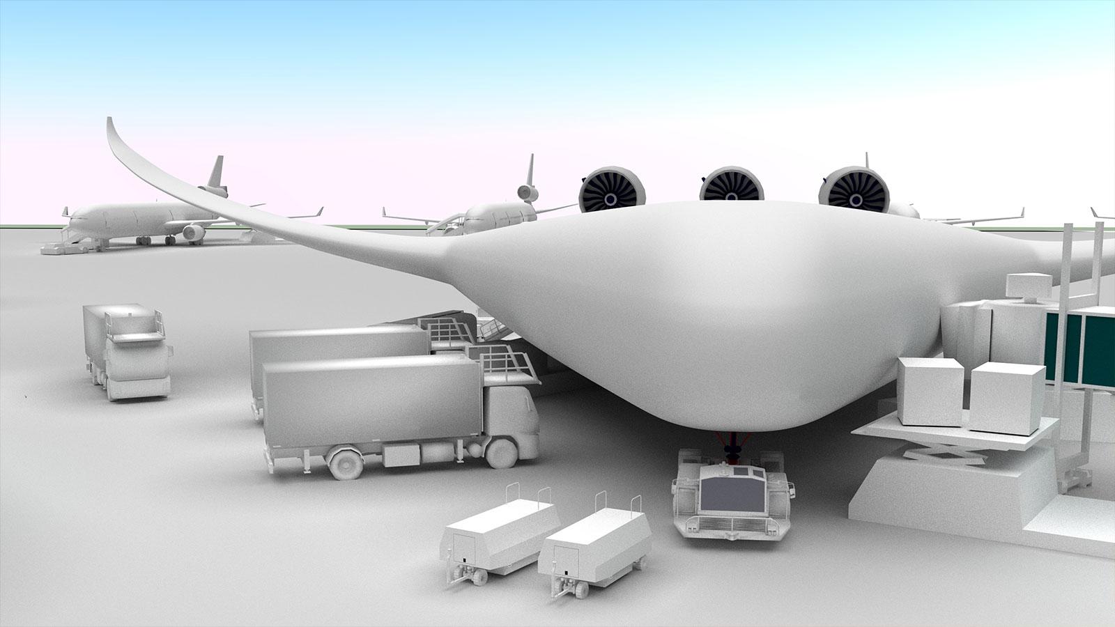 DLR_next - Wie sehen die Flugzeuge der Zukunft aus?