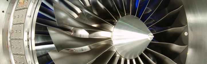 Mit neuen Triebwerken sollen Flugzeuge leiser fliegen. Bild: DLR