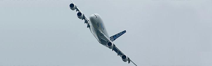 Der Airbus A380 – das größte Passagierflugzeug der Welt. Bild: I. Green