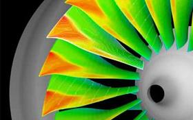 Das Forschungsziel: wirksame und leise Triebwerke. Bild: DLR