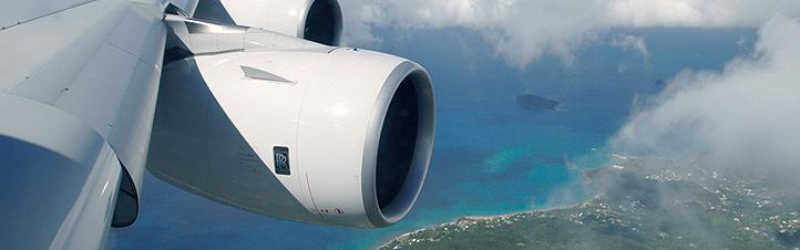 Damit die Triebwerke in Zukunft noch weniger Schadstoffe ausstoßen, arbeiten Forscher an ganz neuen Lösungen.<BR> Bild: Airbus