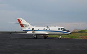 Los geht's: Die Falcon startet zum Rendezvous mit dem Gewitter. Bild: DLR