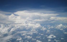 Im Anflug auf das Gewitter. Bild: DLR