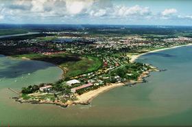 """Europas """"Weltraumbahnhof"""" Kourou liegt an der Atlantikküste von Französisch Guyana in Südamerika. Bild: ESA"""