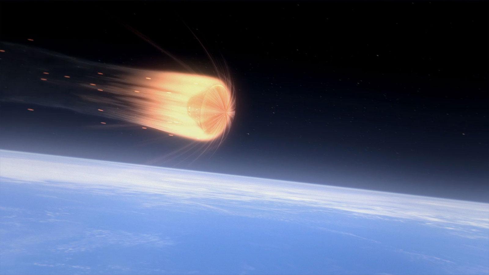 Hier eine künstlerische Darstellung des neuen Orion-Raumschiffs der NASA. Bild: NASA