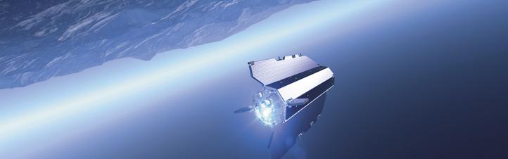 Satelliten untersuchen mit ihren Sensoren die Erde. Bild: ESA
