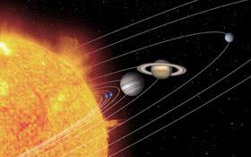 Künstlerische Darstellung unseres Sonnensystems. Bild: NASA, JPL, Caltech, T. Pyle (SSC)