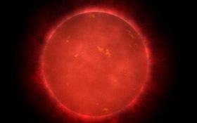 Künstlerische Darstellung von Proxima Centauri. Bild: NASA