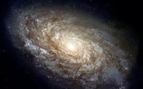 Das Foto zeigt zwar eine andere Galaxie, doch so ungefähr dürfte auch unsere Milchstraße aussehen. Bild: NASA, ESA, STScI